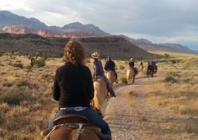 red rock horseback riding tour 10