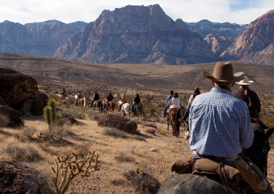 red rock horseback riding tour 2a