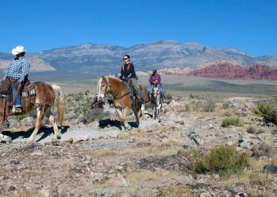 red rock horseback riding tour 3