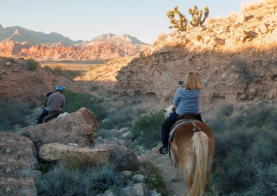 red rock horseback riding tour 8