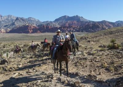 red rock horseback riding tour 9