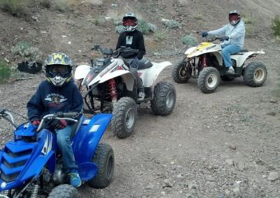 3 Kiddie quads