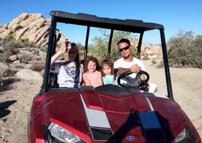 4b Polaris Ranger with kids